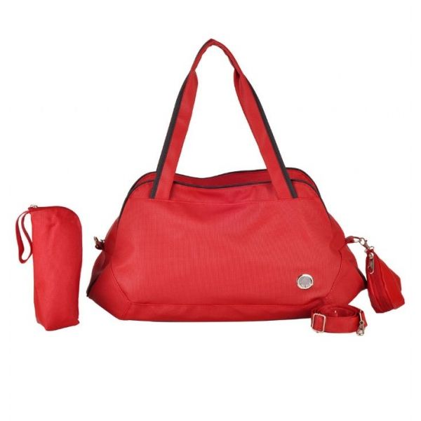 Trg Polo Trg051 Kırmızı-Siyah Anne Bebek Çantası - Housemax ~ Güvenilir alışverişin adresi