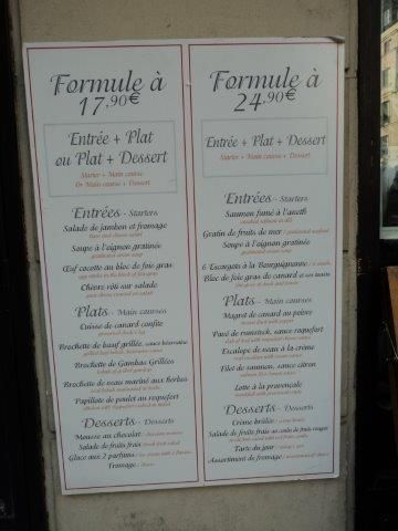 Best Menus Franais Images On   French Classroom