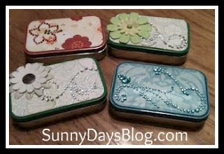 With Secretary's Day coming up on Wednesday, I was going to share the post I wrote last year about how to decorate Altoid tins for gift giv...