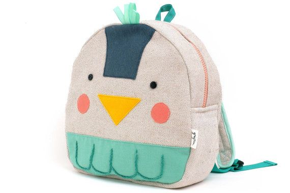 Toddler mini backpack by Grigrin on Etsy