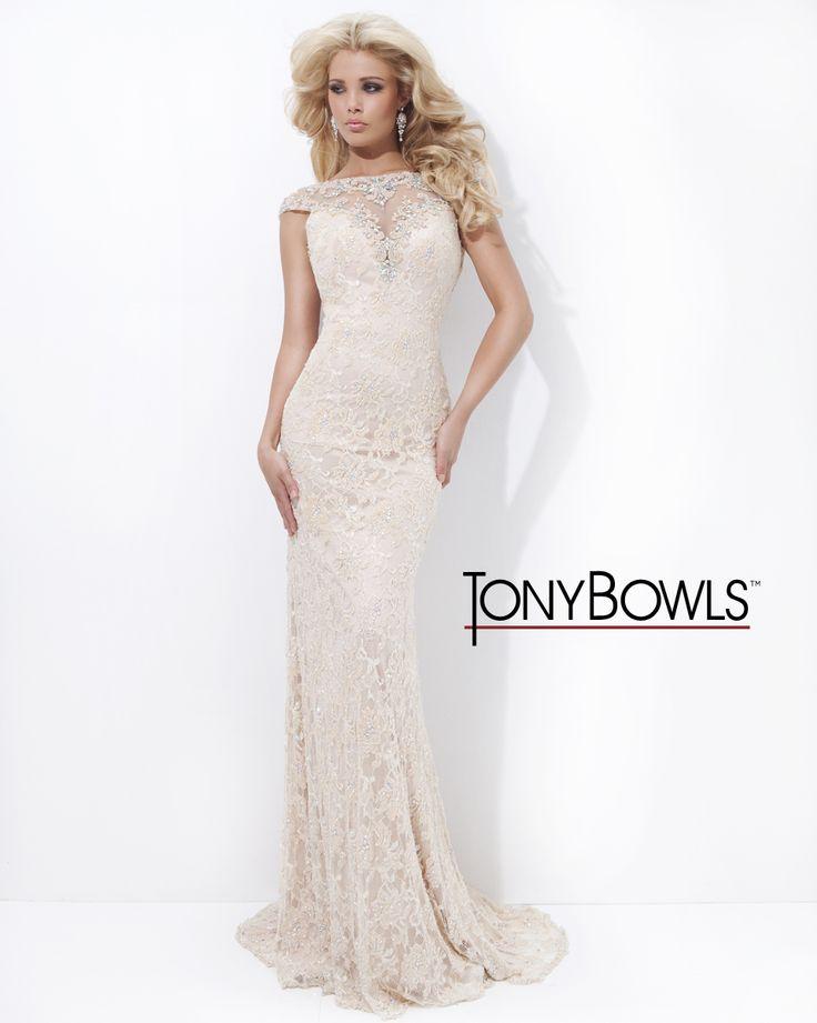 Tony Bowl Prom Dresses Backless