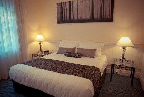 "The ""Elysian"" luxury park view apartment - main bedroom. #holiday #glenelg #apartment #luxury #vacation #travel"