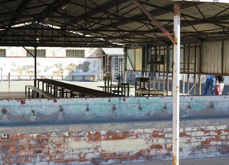 fremantle prison ~ recreation yard