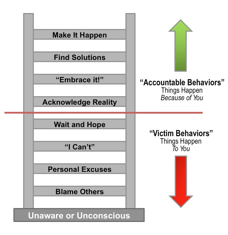 ladder of accountability | Critical Factor For Success: Accountability | Associate's Mind