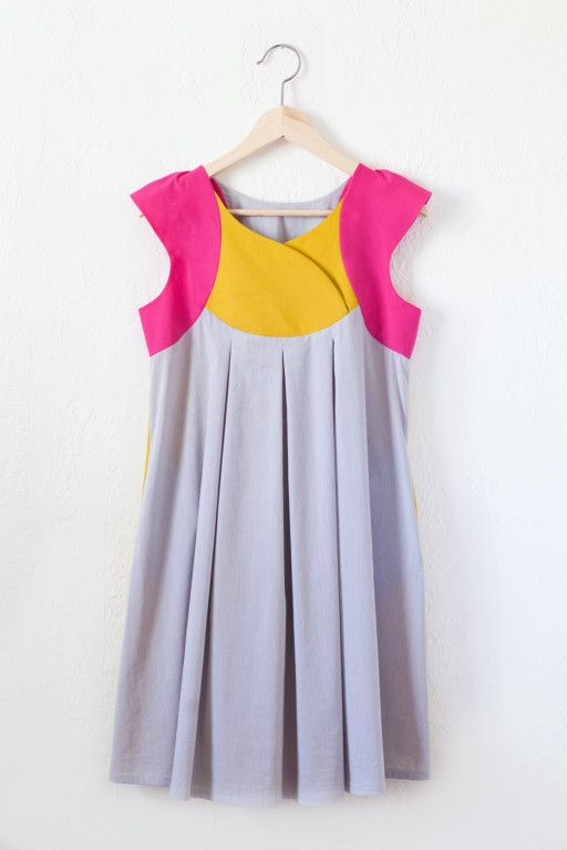 Fawn Lily Dress... crossover yolk option and perhaps with a slightly less full skirt ~ Willow & Co