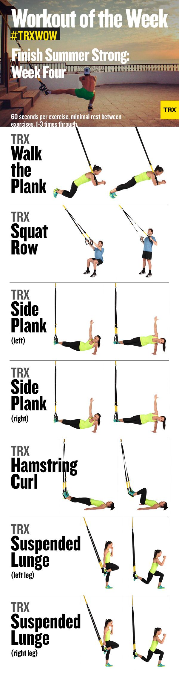 Finish summer #strong with our #TRX workout of the week!   #TRXWOW #Fitness
