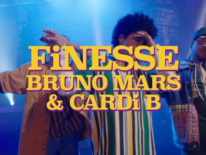 brunomarsLink in Bio #FinesseVideo  ITS OUT!!!!!