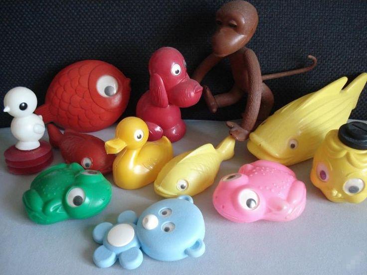 Plastové hračky