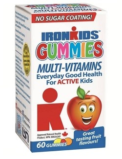 IronKids Gummies Multi-Vitamins for Active Kids $9.49 - from Well.ca
