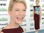 Better luck tomorrow! Cate Blanchett suffers a rare fashion fail as she leads the stars at the Film Independent Spirit Awards... one day before the Oscars