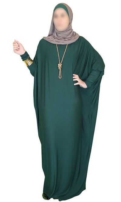 Viscose Butterfly Maxi Dress Abaya Various Colors от ShopIslam