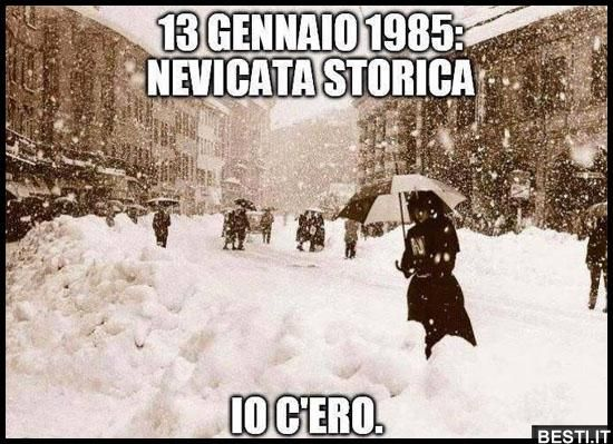 13 Gennaio 1985