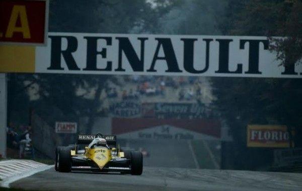 Alain Prost 1983 Renault F1 Turbo