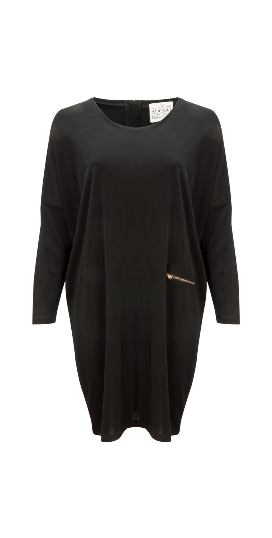 Masai Clothing NEW - Neema Dress in 011-Black