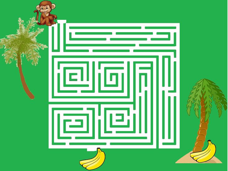 nájde opička banány?