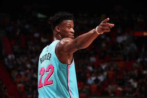 Miami Heat Jimmy Butler Vice Jersey Poster 24x36 Inches In 2020 Miami Heat Miami Heat Basketball Nba News