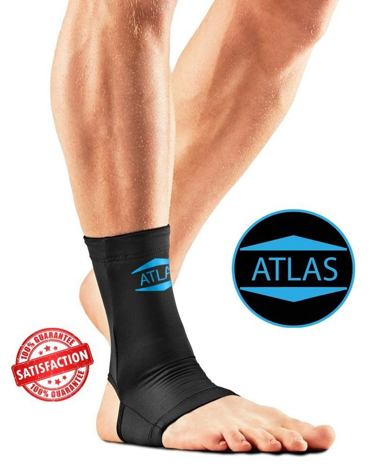 Atlas Copper Ankle Compression Sleeve, Unisex Medium >>> Learn more by visiting the image link.