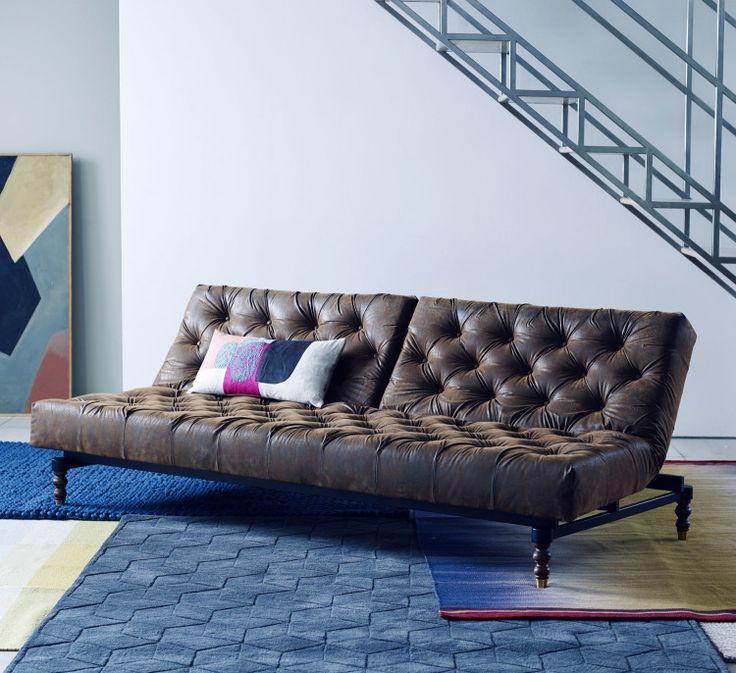 leather sofa bed - Tpferei Scheune Kleine Wohnzimmer Ideen