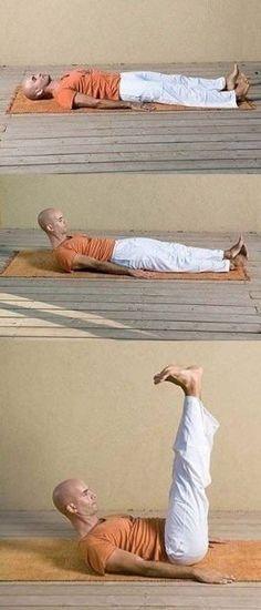 """Пять простых """"тибетских"""" упражнений, которые восстанавливают молодость, здоровье и жизнеобеспечение организма   thePO.ST"""