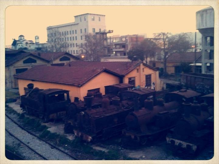 Old Trains Volos