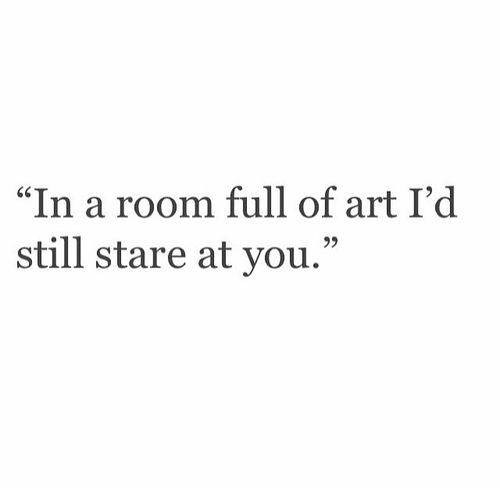 You are the most beautiful art in the World....let alone a measly little room full of so called art