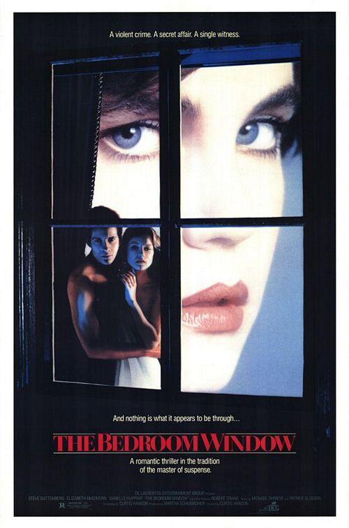 The Bedroom Window 1987 thriller starring Steve Guttenberg, Isabelle Huppert and Elizabeth McGovern