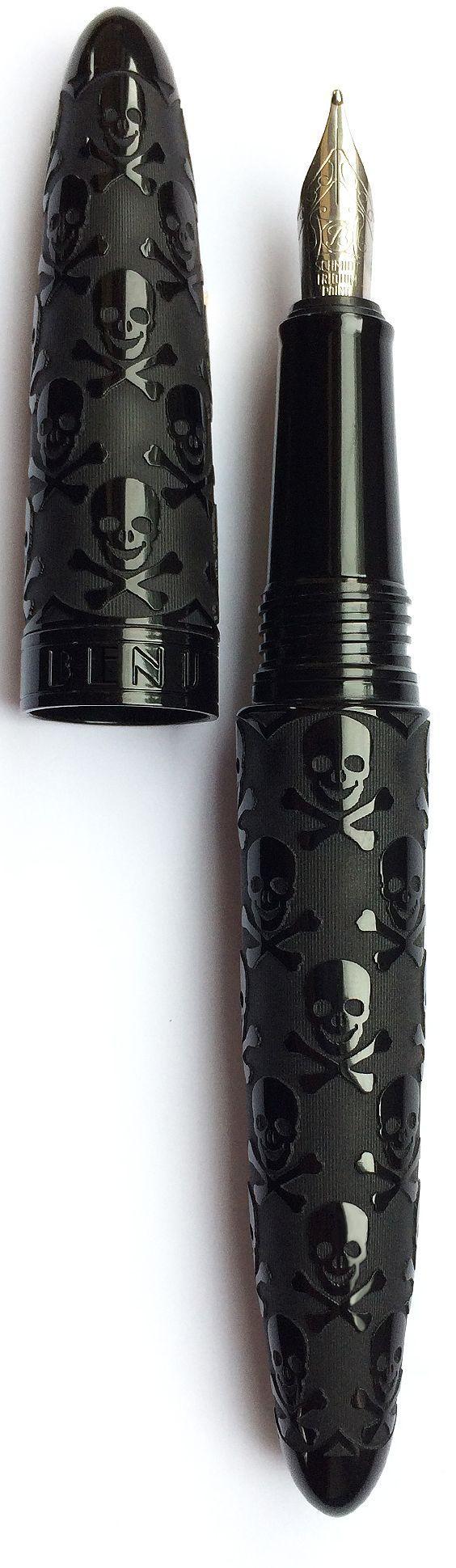 Black Skull BENU Fountain pen