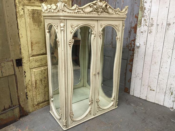 Small Curio Cabinet French Provincial Vintage Curio Cabinet | eBay