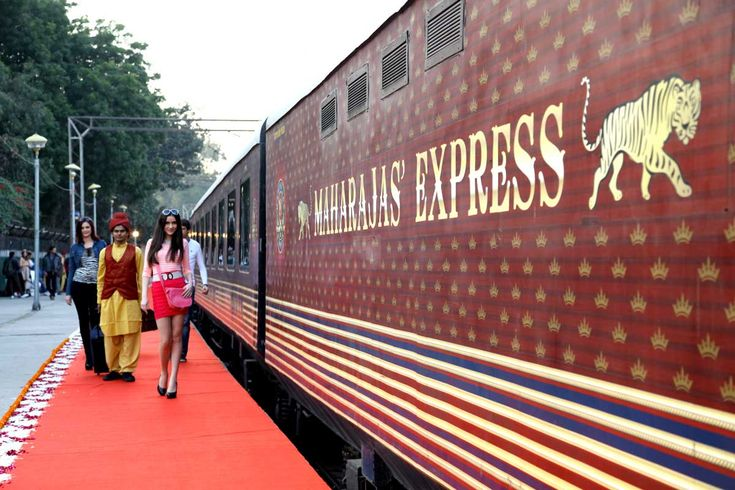 Today, we share with you this heart-throbbing exterior of Maharajas' express that will make your eyes stuck at these. Tell us your favorite ones.   http://bit.ly/25Z3443