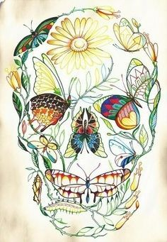 I will get a sugar skull tattoo. no questions asked. theyre freakin awesome!