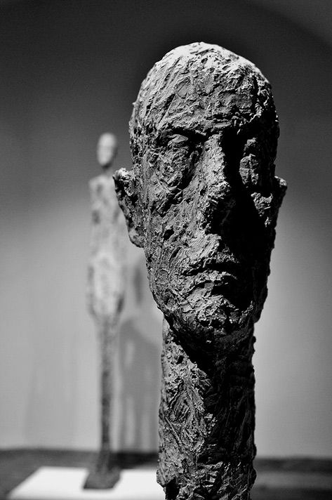 Alberto Giacometti sculpture - Photo by Thierry Bressy
