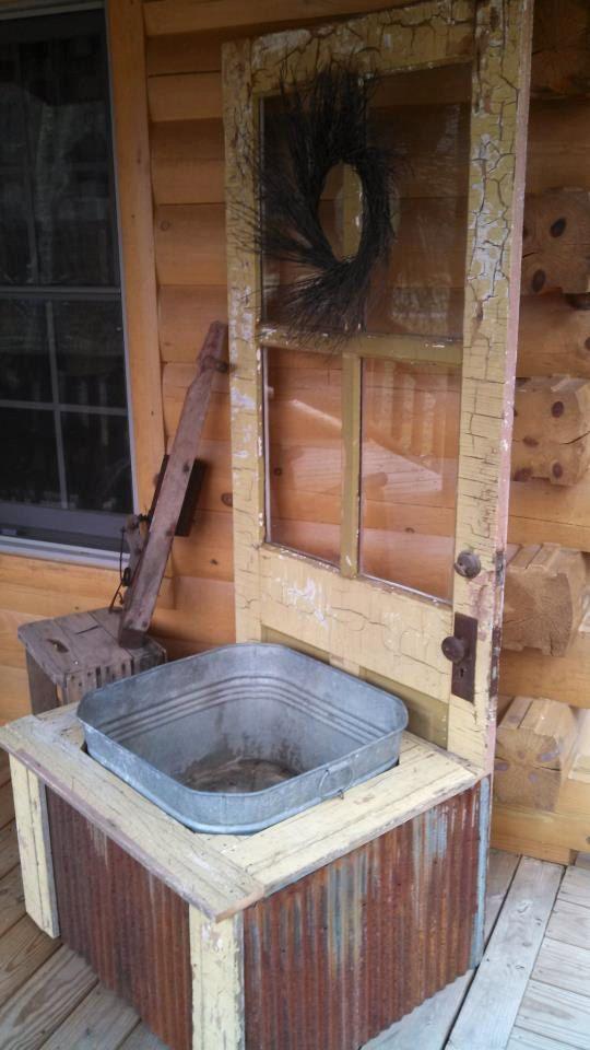 Antique Door Planter