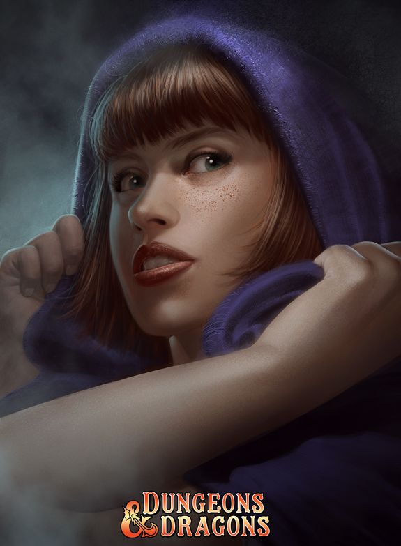 Sheila, the Thief - Dungeons and Dragons - Art by Stefani Rennee