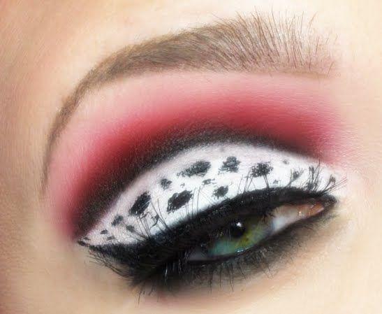 Disney Inspired - Cruella Makeup