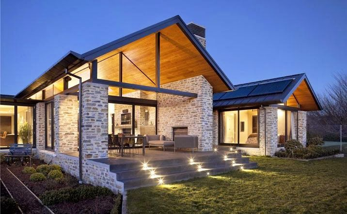 Amazing New Zealand Architecture and homes in the Wanaka Region