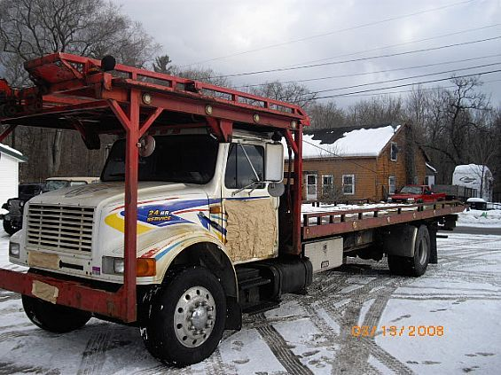 1997 International 4900 4-Car Tow Truck For Sale in Brandon, VT A00013 | Want Ad Digest Classified Ads