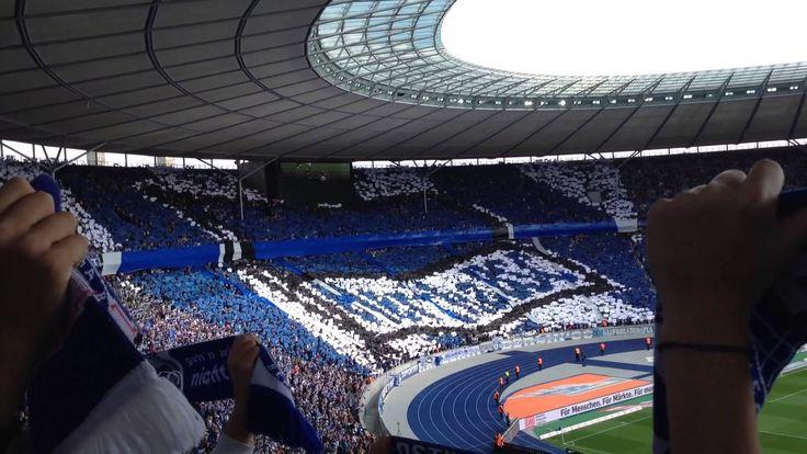 @Hertha fans in das Olympiastadion #9ine