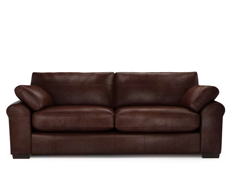 Sophia 4 Seater Sophia In Distressed Leather   Walnut Https: Part 85