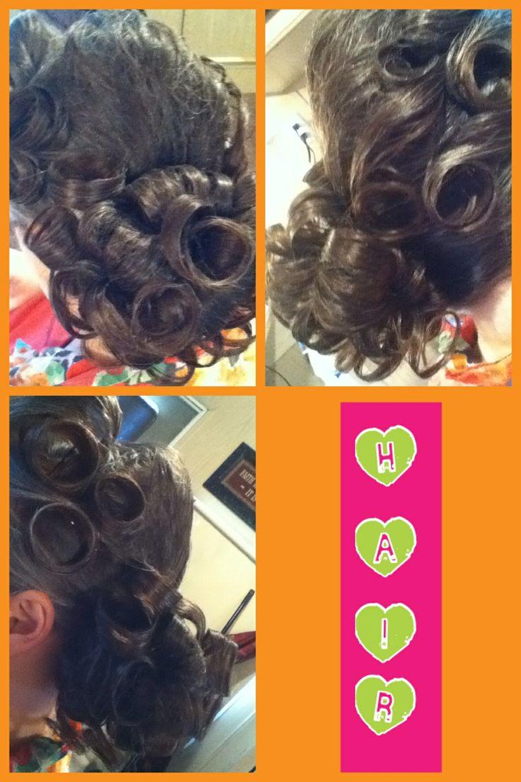 Ha Hair Accessories For Apostolic Long Hair - My moms hair tonight
