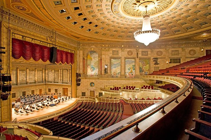 14 of America's Most Beautiful Historic Theaters