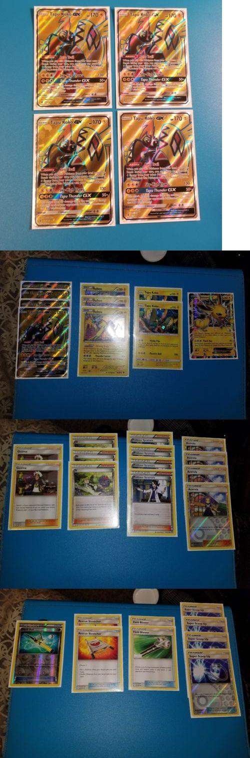 Pok mon Individual Cards 2611: Tapu Koko Gx(Full Art) Pokemon Deck -> BUY IT NOW ONLY: $80 on eBay!