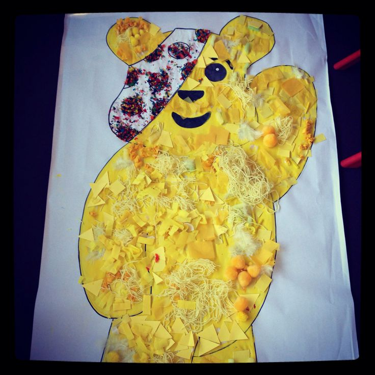 Pudsey bear...the finished product.