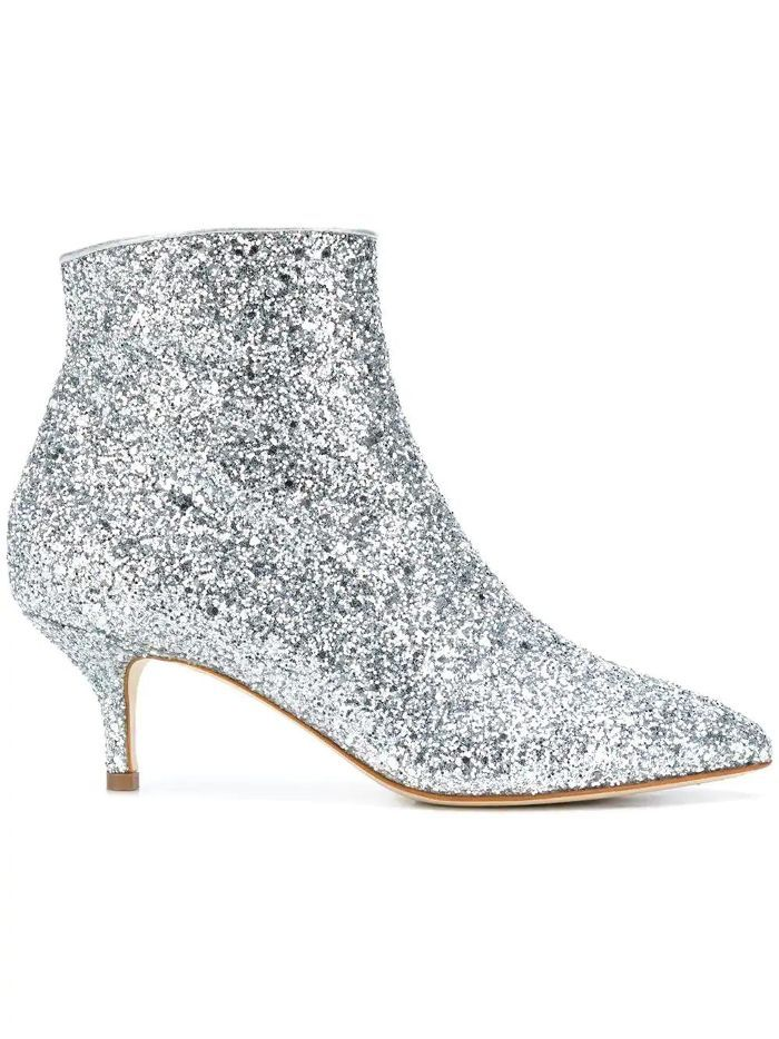 36c64dfba87f The best sparkly shoes for New Year's Eve. Polly Plume Wannabe Glitter Boots