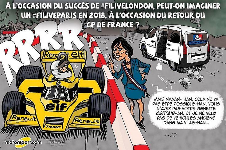 L'humeur de Cirebox - Bientôt un F1 Live à Paris?
