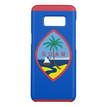 Samsung Galaxy S8 Case with Guam Flag - trendy gifts cool gift ideas customize