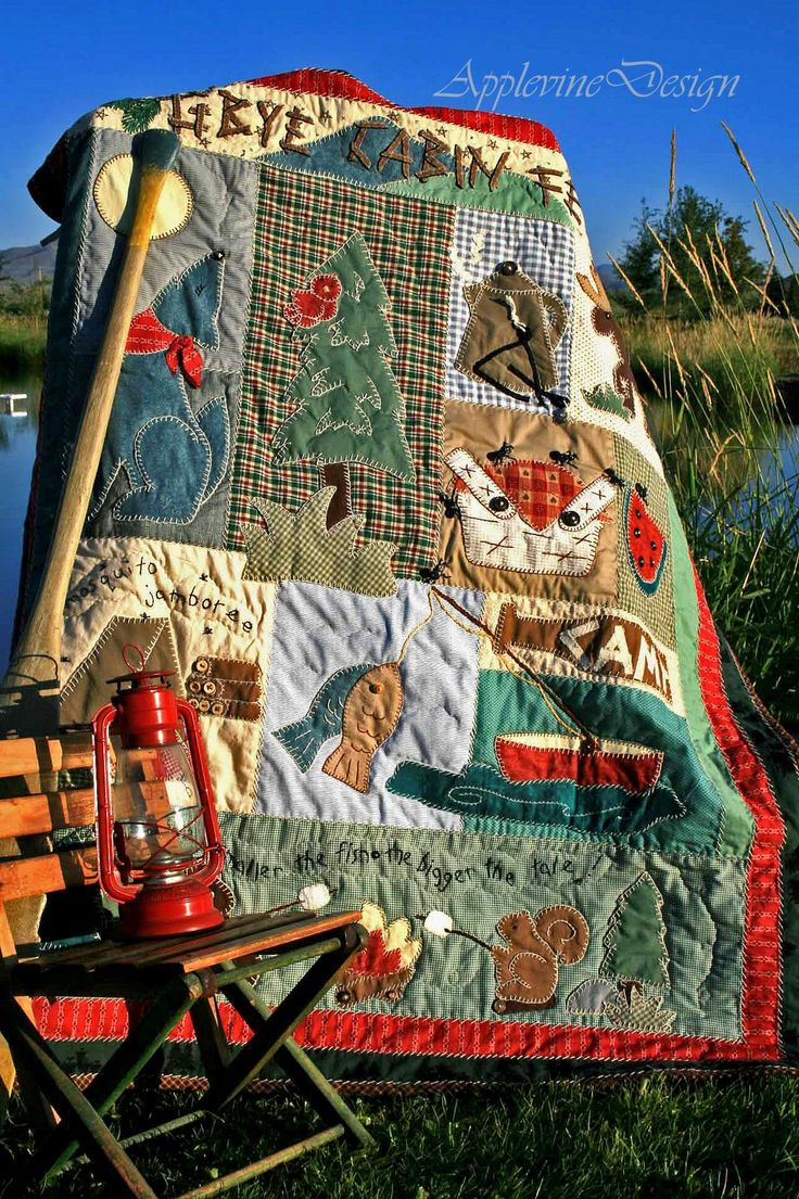 79 Best Quilting N Camping Images On Pinterest