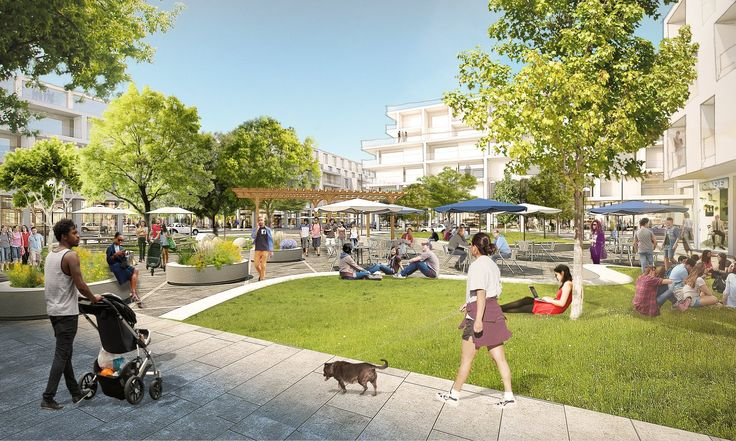 Image 2 of 3 from gallery of OMA New York to Design Mixed-Use Menlo Park Campus for Facebook. Photograph by OMA