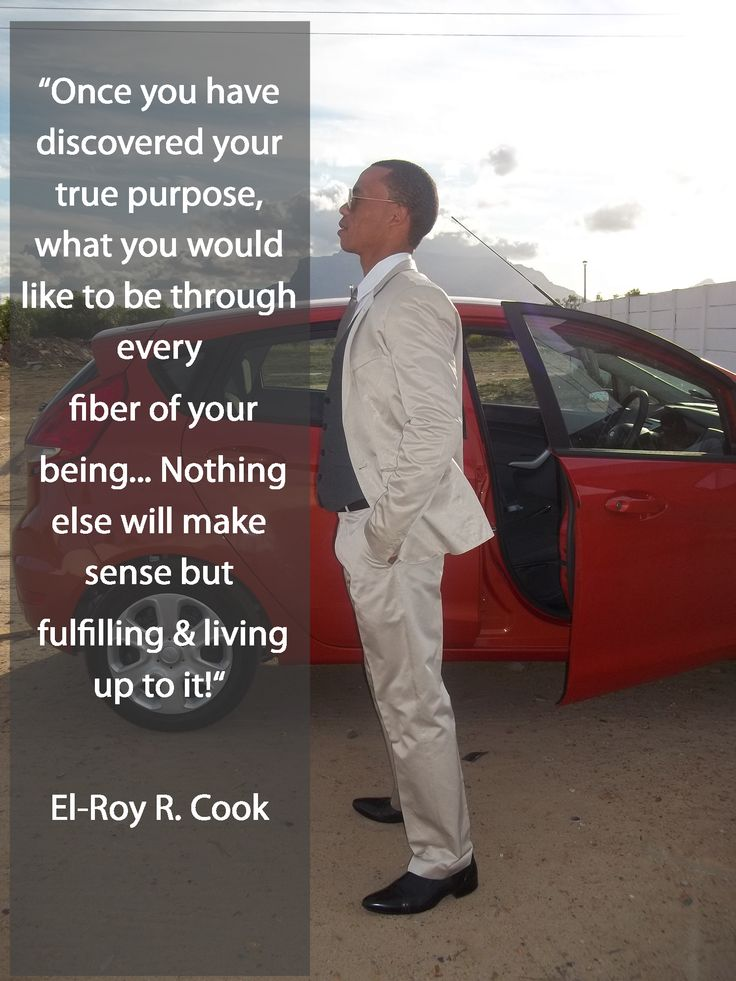 Discovering Your Purpose!
