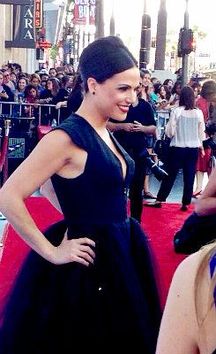 Lana Parrilla at the OUAT S4 premiere
