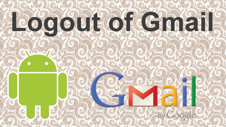 How to logout of Gmail on android - 2015 #youtube #tutorial #video #email #tips #tricks #gmail #android #androidapps #sync #out
